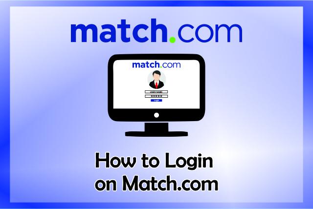 how to login match.com login